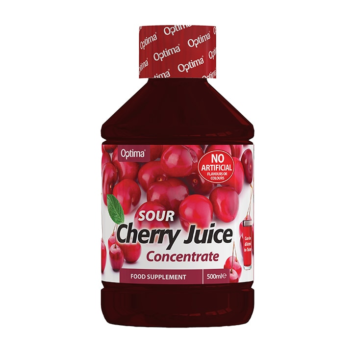 Optima Healthcare Sour Cherry Juice Concentrate 500ml