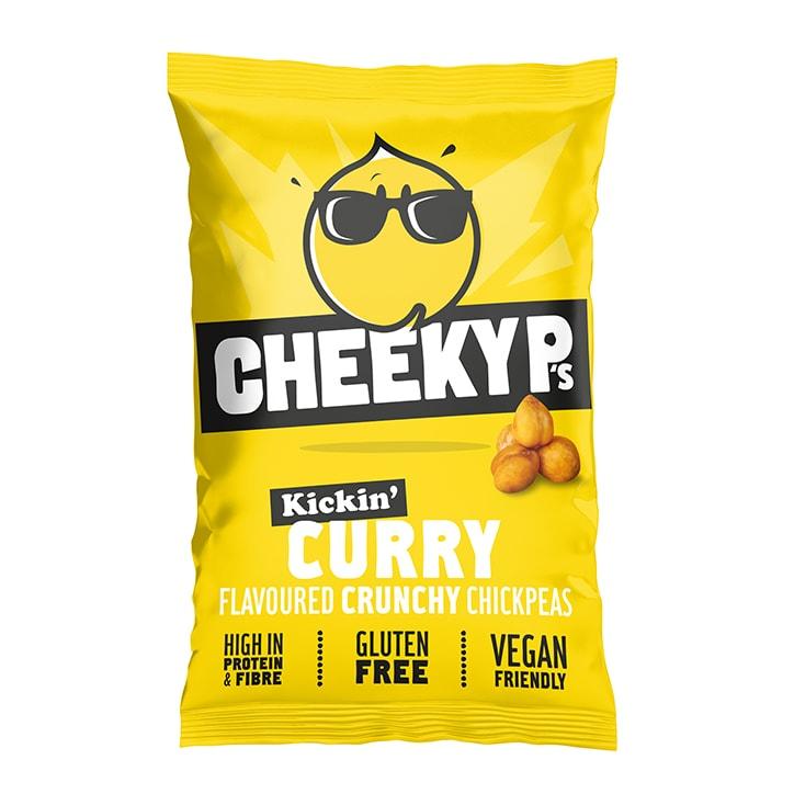 Cheeky P's Kickin' Curry Flavoured Crunchy Chickpeas 40g