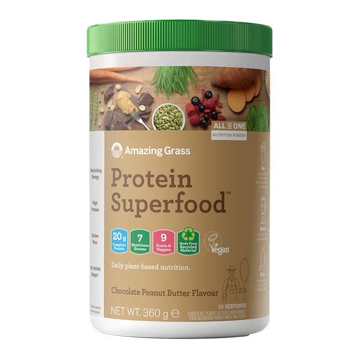 Amazing Grass Protein Superfood Chocolate Peanut Butter 360g