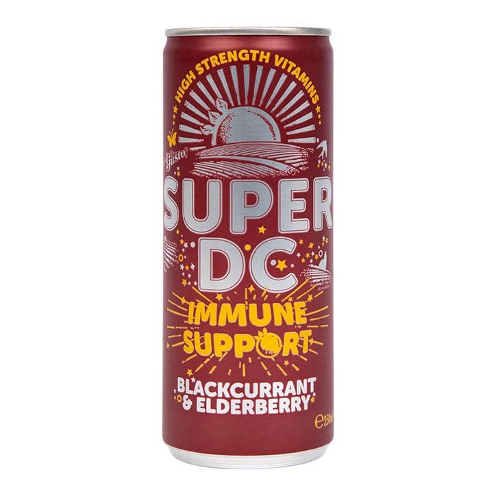 Gusto Super DC Blackcurrant & Elderberry 250ml
