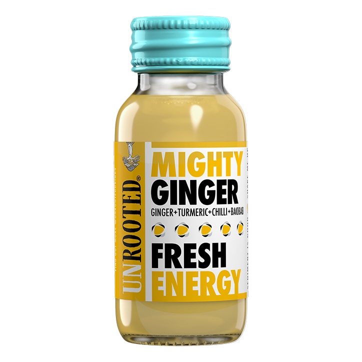 Unrooted Mighty Ginger Fresh Energy 60ml