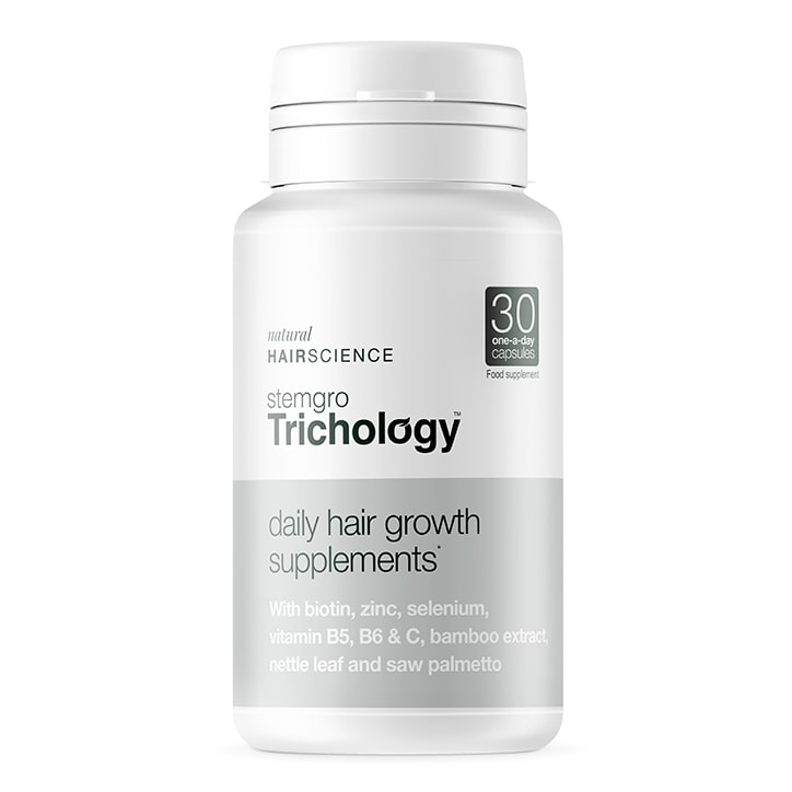 Stemgro Trichology Daily Hair Growth Supplements 30 Capsules