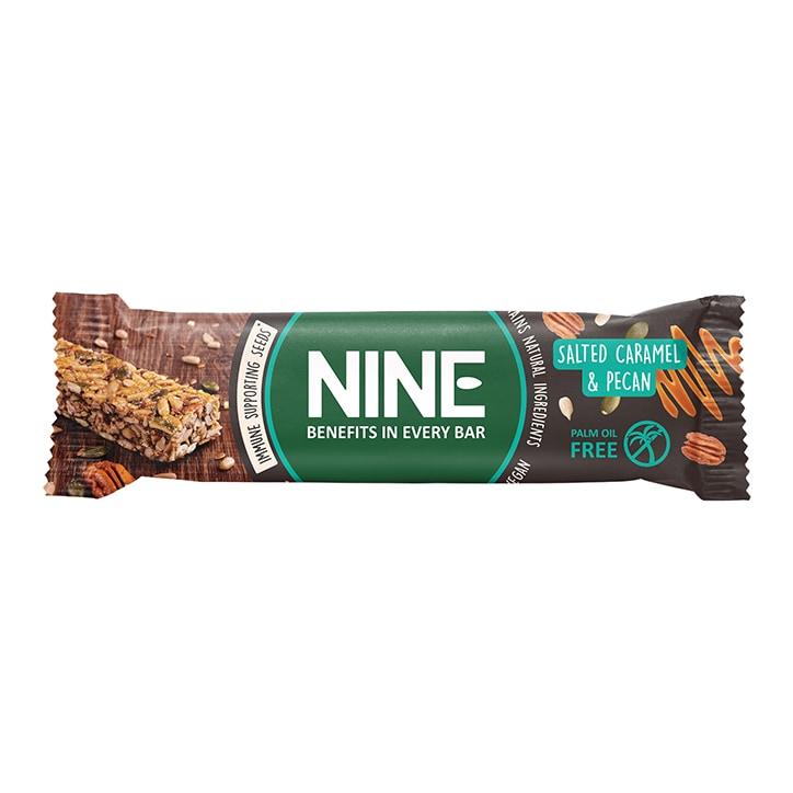 NINE Salted Caramel Pecan Bar 40g