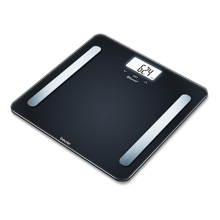 Beurer Diagnostic Bathroom Scale with HealthManager App, BF600 Black