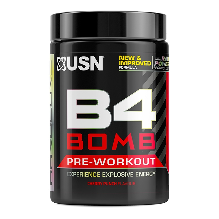 USN B4 Bomb Pre-Workout Cherry 300g