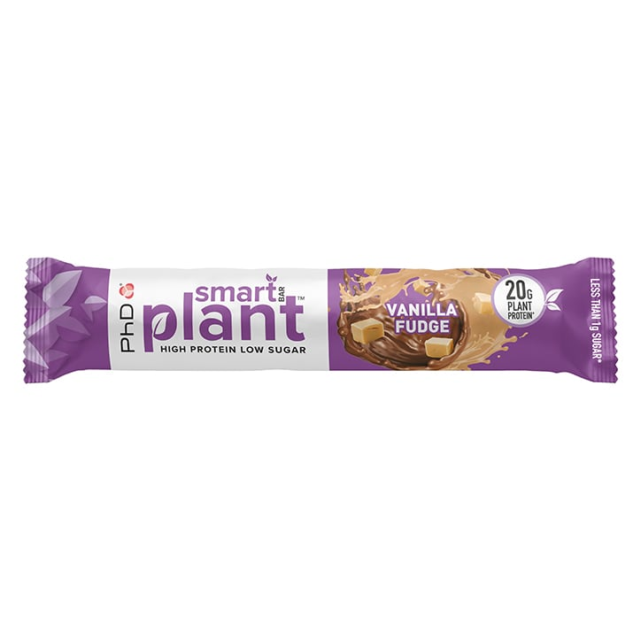 PhD Smart Bar Plant Vanilla Fudge 64g