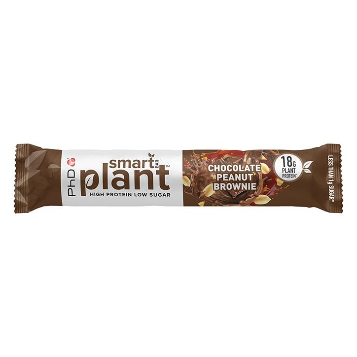 PhD Smart Bar Plant Chocolate Peanut Brownie 64g