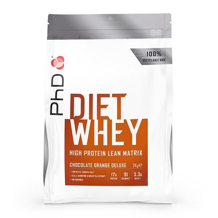 PhD Diet Whey Powder Chocolate Orange 2000g