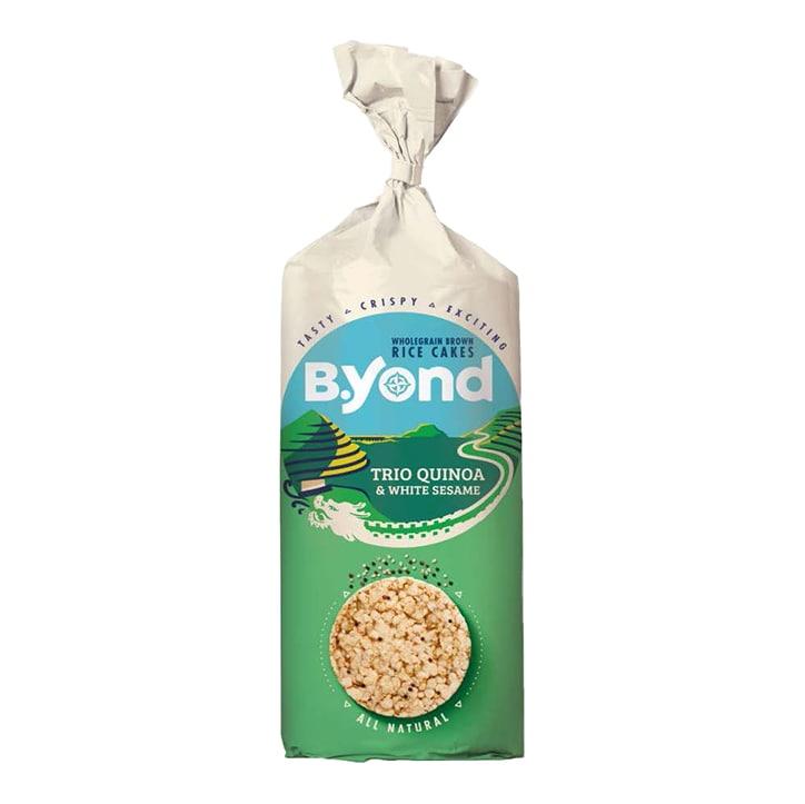 B.Yond Trio Quinoa & White Sesame Rice Cakes 100g
