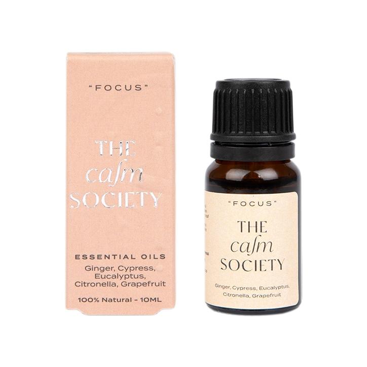 The Calm Society Focus Essential Oil 10ml