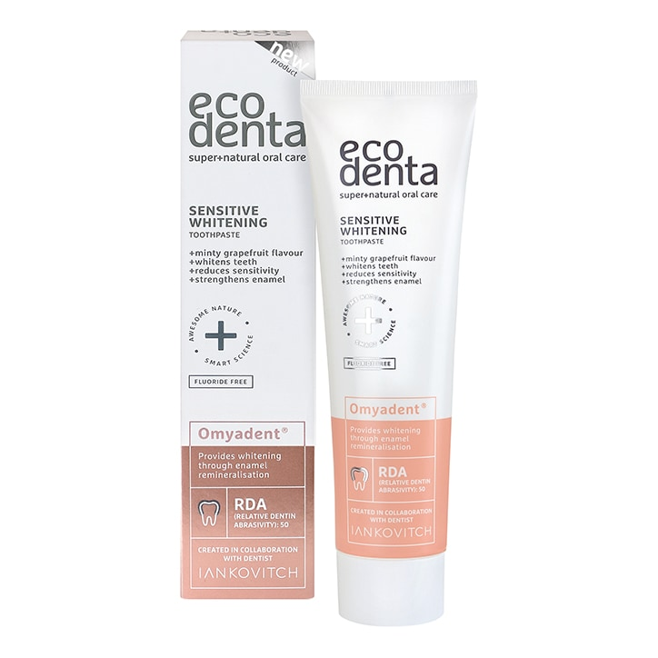 Ecodenta Sensitive Whitening Toothpaste 100ml
