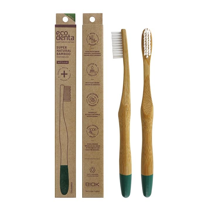 Ecodenta Bamboo Toothbrush - Medium