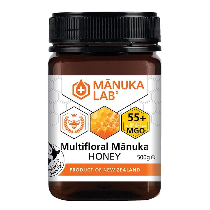 Manuka Lab Multifloral Manuka Honey 55 MGO 500g
