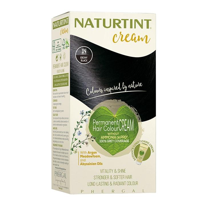 Naturtint Cream 1N Ebony Black 155ml