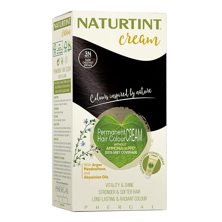 Naturtint Cream 3N Dark Chestnut Brown 155ml