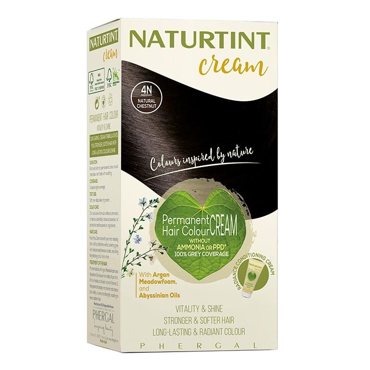 Naturtint Cream 4N Natural Chestnut 155ml