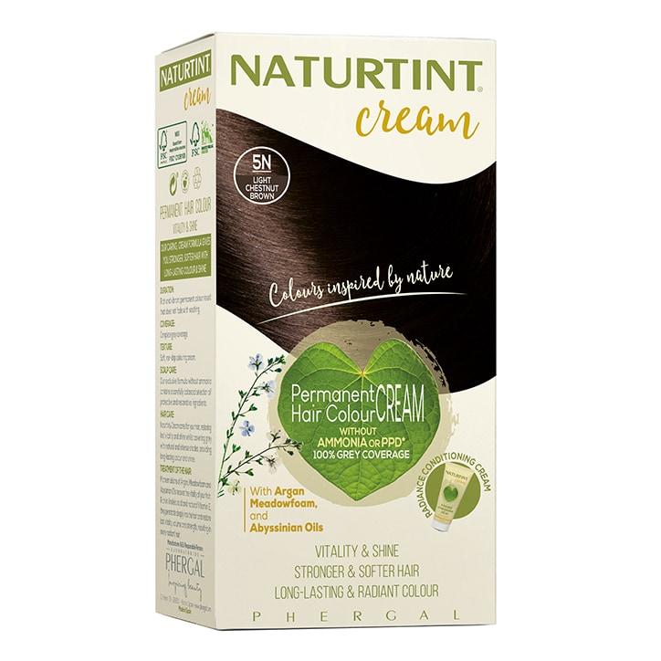 Naturtint Cream 5N Light Chestnut Brown 155ml