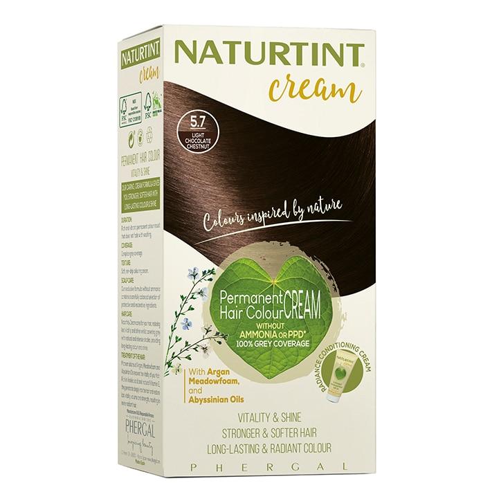 Naturtint Cream 5.7 Light Chocolate Chestnut 155ml
