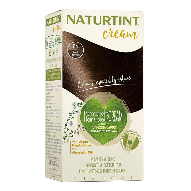 Naturtint Cream 6N Dark Blonde 155ml