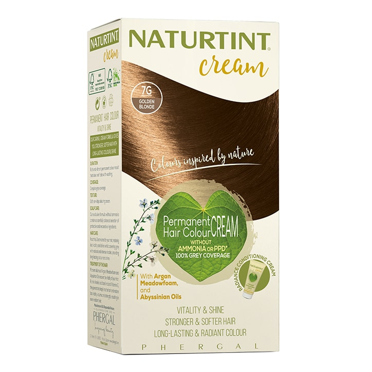 Naturtint Cream 7G Golden Blonde 155ml