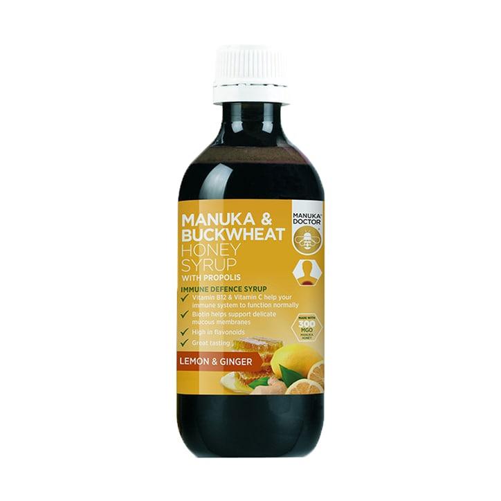 Manuka Doctor Manuka Honey & Buckwheat Honey Syrup 200ml