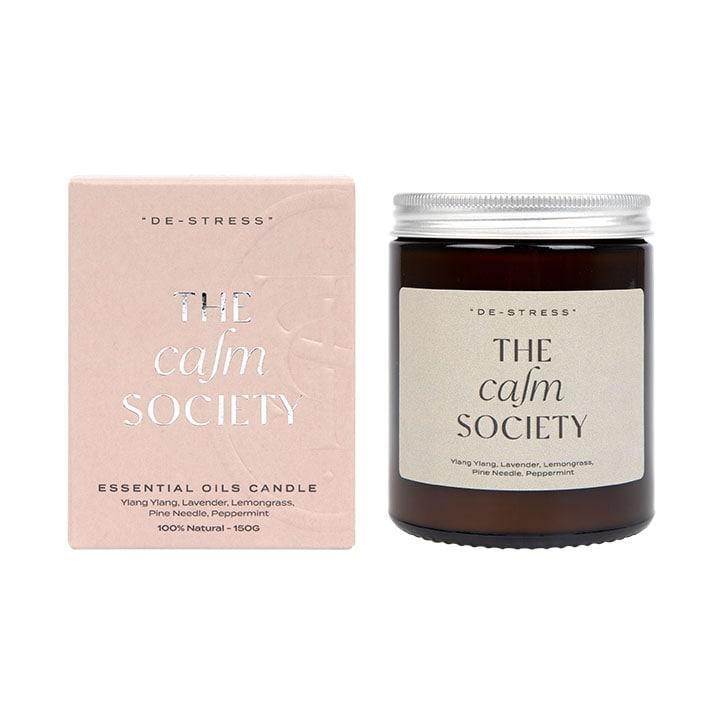 The Calm Society Destress Candle 200g
