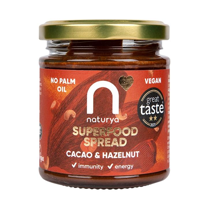 Naturya Cacao & Hazelnut Crunchy Spread 170g