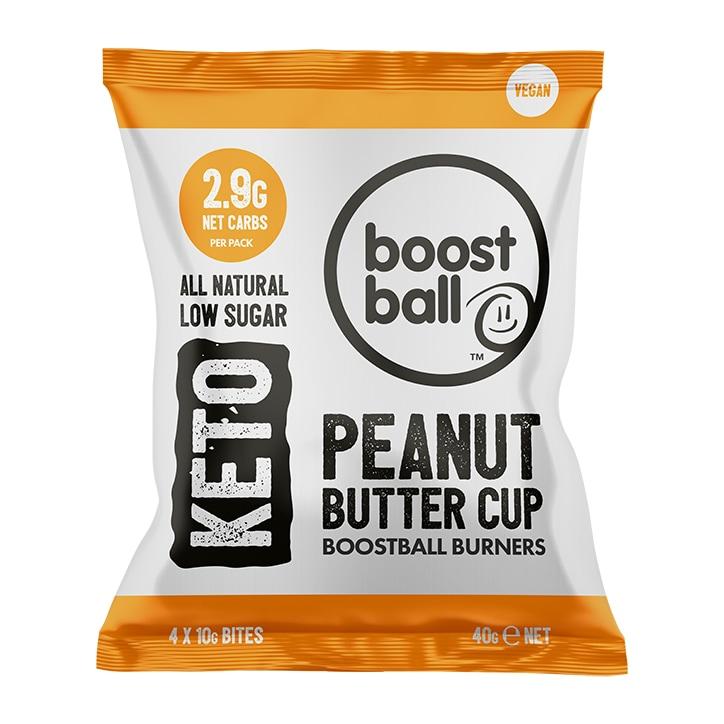 Boostball Keto Peanut Butter 40g