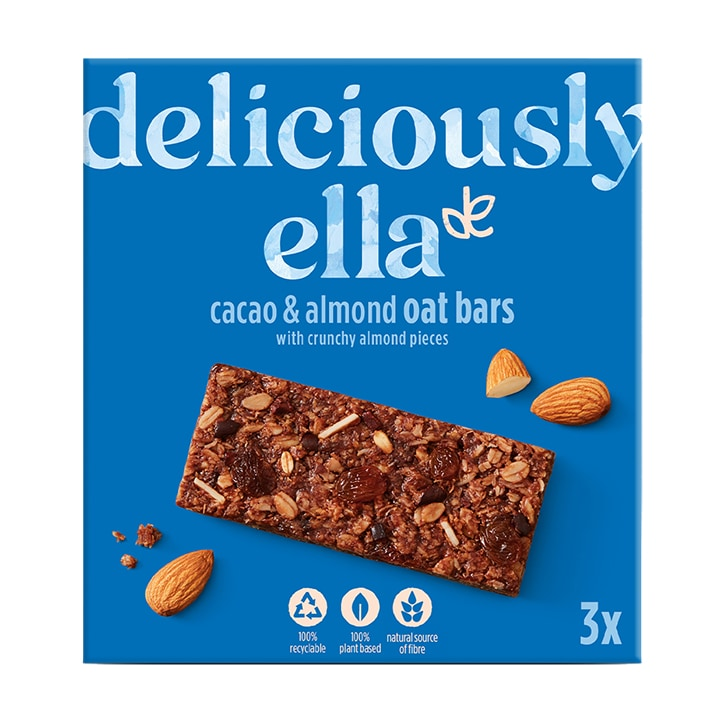 Deliciously Ella Cacao & Almond Oat Bar Multipack 3 x 50g