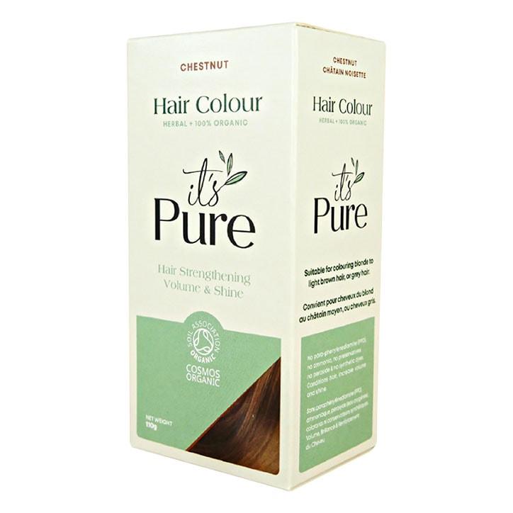 It's Pure Organic Herbal Hair Colour Chestnut 110g