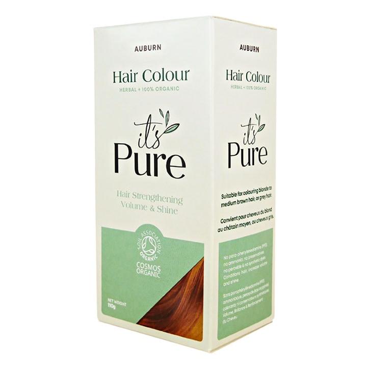 It's Pure Organic Herbal Hair Colour Auburn 110g
