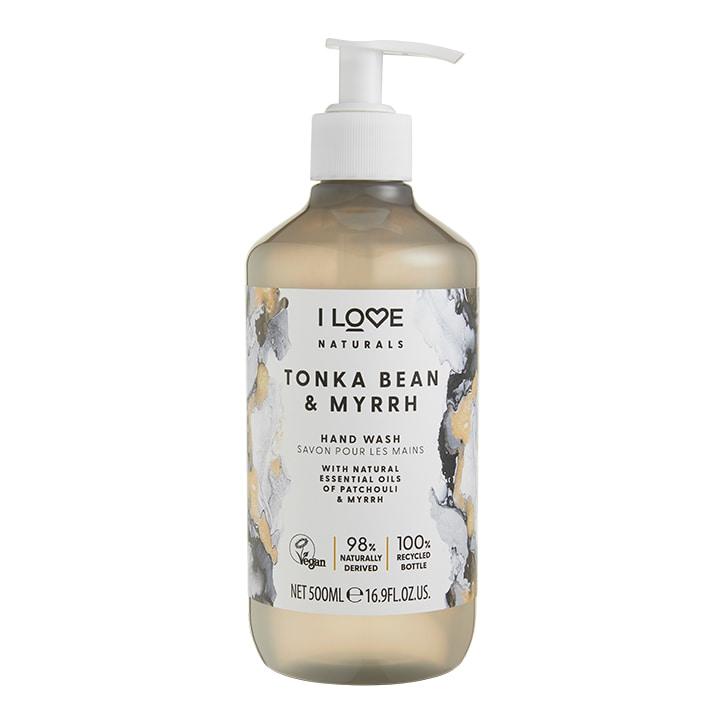 I Love Naturals Hand Wash Tonka Bean & Myrrh 500ml