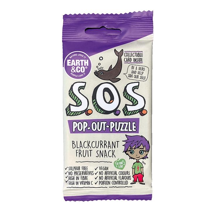SOS Blackcurrant Fruit Snack 20g