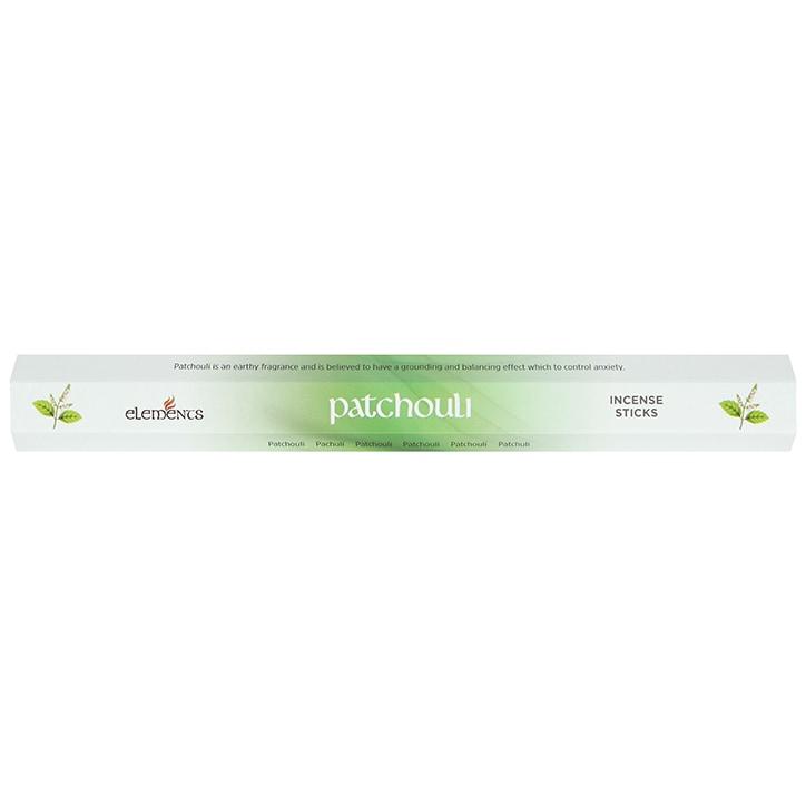 Elements Patchouli 20 Incense Sticks