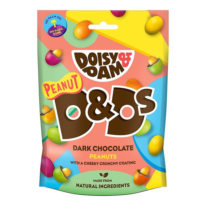 Doisy & Dam Peanut D&Ds Vegan Dark Chocolate 80g