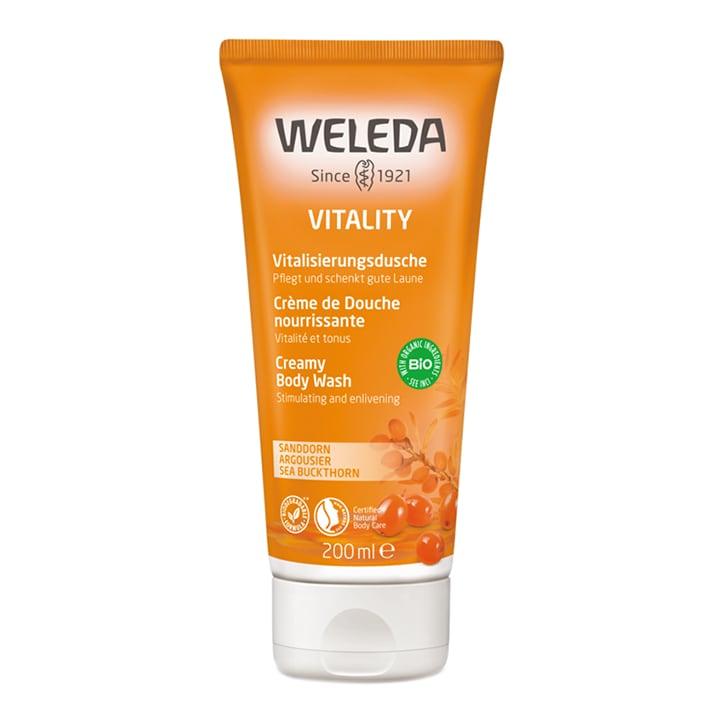 Weleda Sea Buckthorn Vitality Creamy Body Wash 200ml