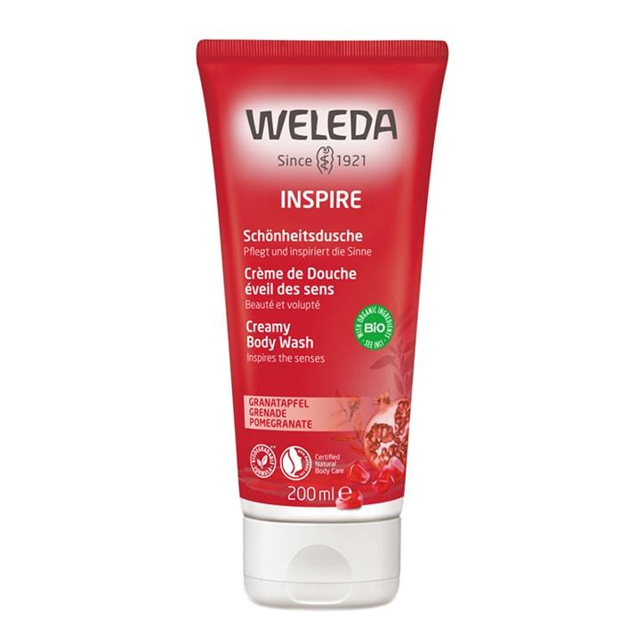 Weleda Pomegranate Inspire Creamy Body Wash 200ml