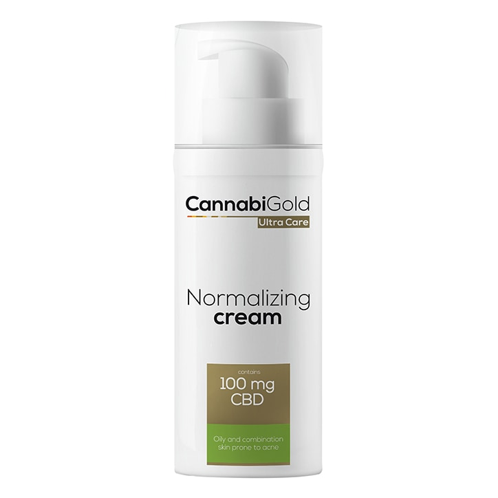 CannabiGold Ultra Care Normalizing Cream for Oily and Combination Skin 50ml