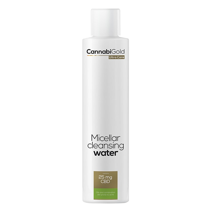 CannabiGold Ultra Care Micellar Cleansing Water for Oily and Combination Skin 200ml