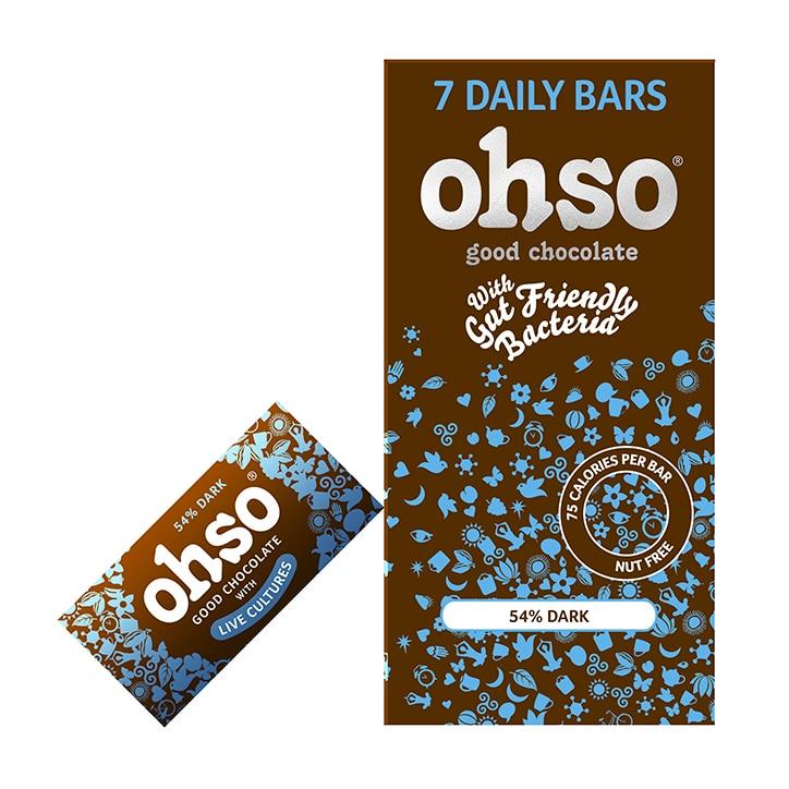 Ohso 54% Dark Chocolate Bar 7 x 13.5g