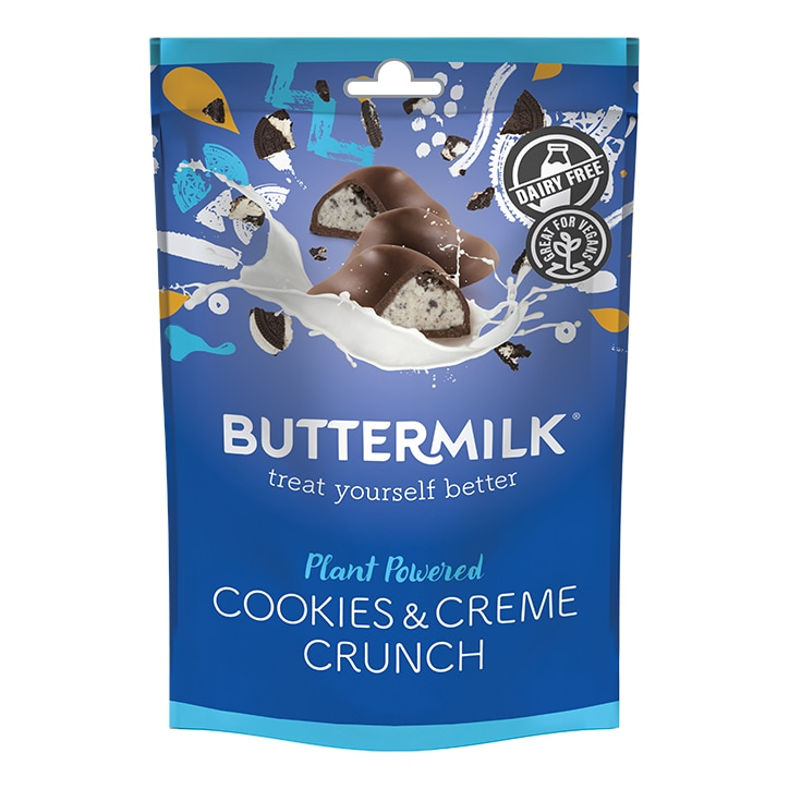 Buttermilk Plant Powered Cookies and Creme Crunch 100g