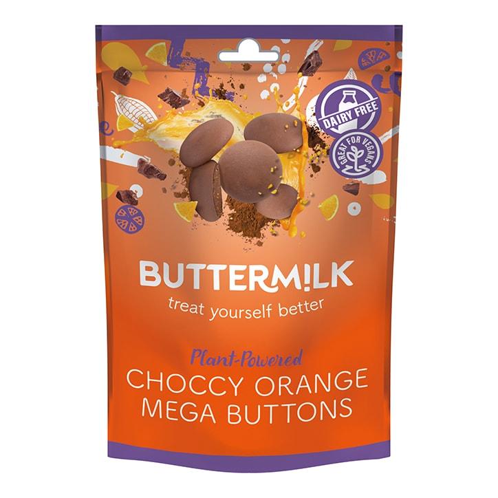 Buttermilk Choccy Orange Buttons 100g