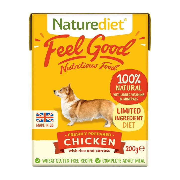 Naturediet Feel Good Chicken 200g