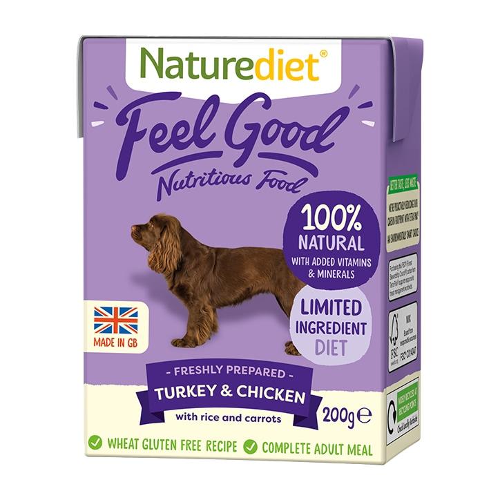 Naturediet Feel Good Turkey & Chicken 200g