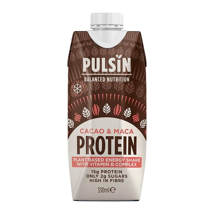 Pulsin Cacao & Maca Protein Shake 330ml