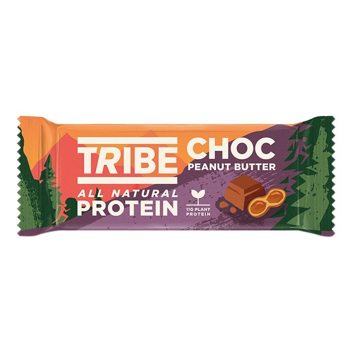 TRIBE Plant Bar Choc Peanut 50g