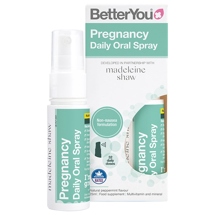BetterYou Pregnancy Daily Oral Spray 25ml