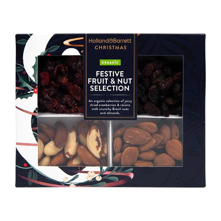 Holland & Barrett Organic Festive Fruit & Nut Selection 260g