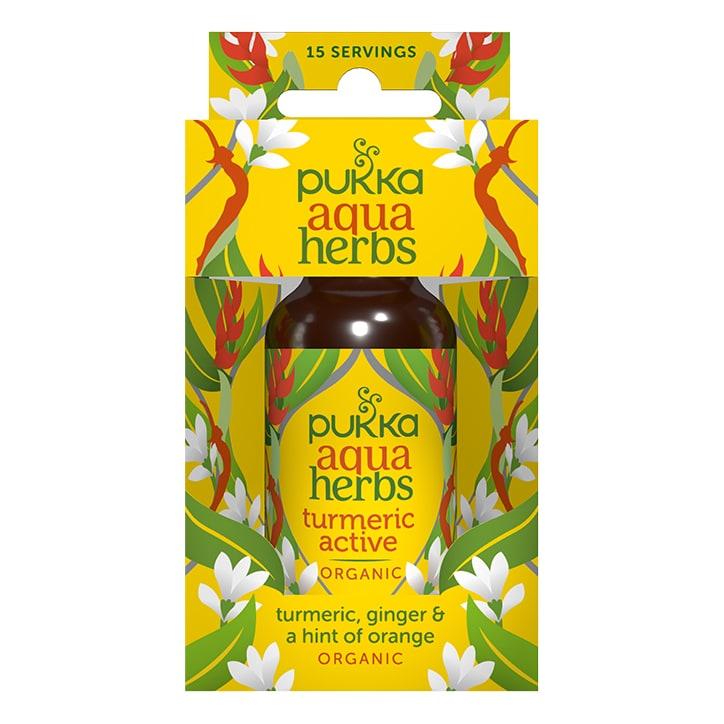 Pukka Turmeric Active Aqua Herbs Organic 30ml