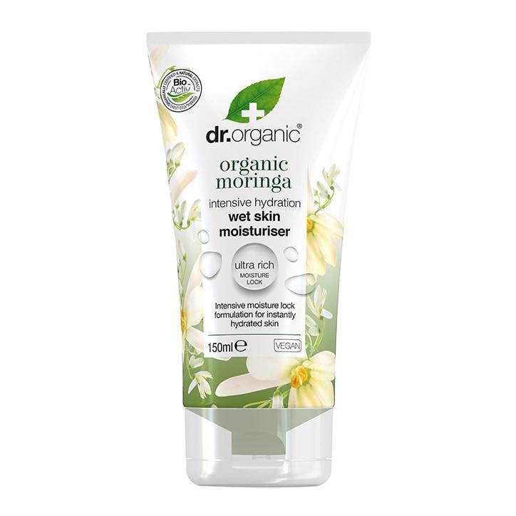 Dr Organic Moringa Wet Skin Moisturiser 150ml